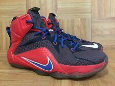 cad95840f61b item 2 RARE🔥 Nike LeBron XII 12 University Red Navy Royal Lyon Superman 7Y  685181-601 - RARE🔥 Nike LeBron XII 12 University Red Navy Royal Lyon  Superman ...