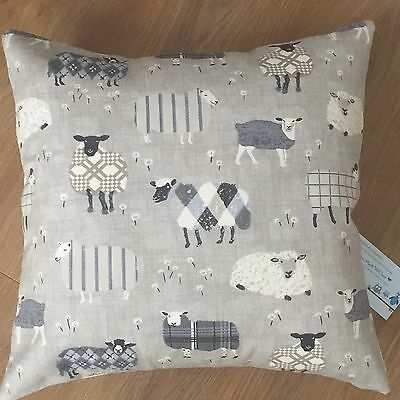 One New Funky Sheep Animal Print Grey Black & White Scatter Cushion Covers 16""