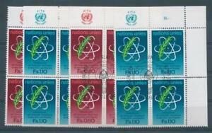162378) Onu Genève 4 Erbl.nr.70 -1 ** + Gest Amtomenergie Org.-*+gest Amtomenergie Org.
