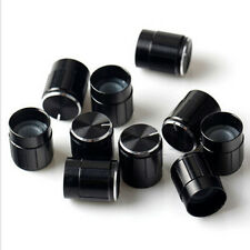 10Pcs Potentiometer Switch Knob Cap Hole Dia 6mm Volume Control Rotary Knob E Hl