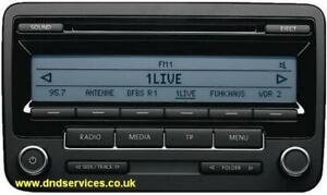 vw refurbished stereo radio mp3 cd rcd310 eu delphi ebay rh ebay co uk iPod Car Adapter Polo TSI