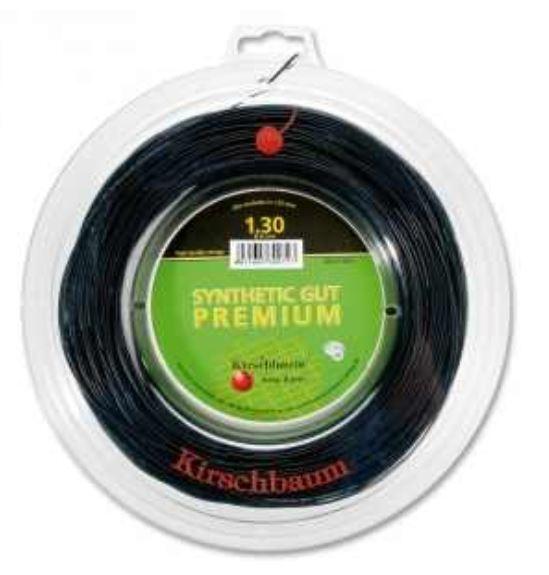 ( m) Kirschbaum Synthetic Gut Premium 1,25 mm 200 m Tennissaiten
