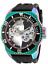 Invicta-Russian-Diver-Ghost-Mechanical-21-Jewels-52mm-Black-Men-039-s-Watch-25628 縮圖 1