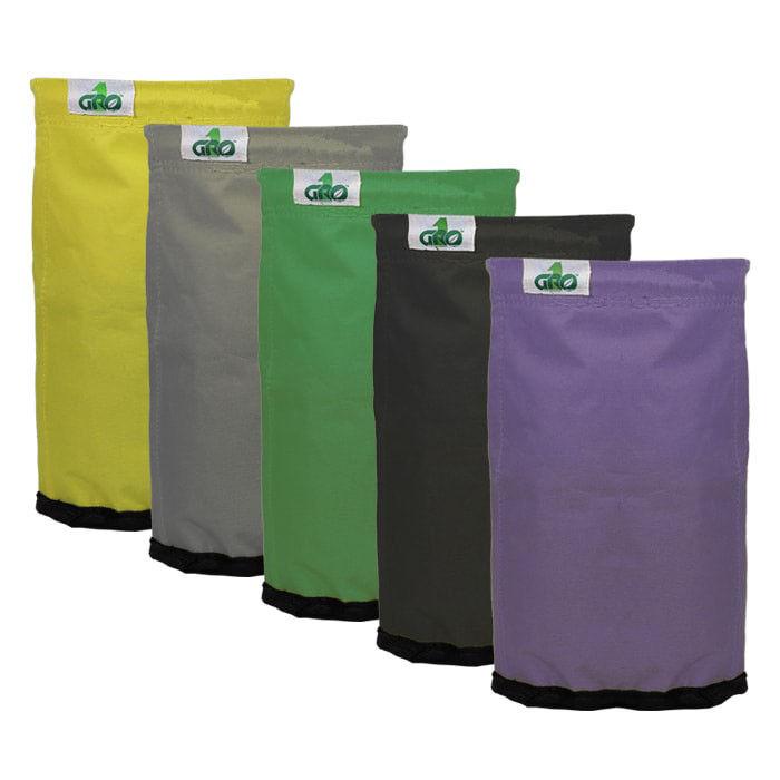 Bolsas de crecimiento de extracción de 1 - 32 GAL (approx. 121.13 L) Kit De Bolsa De 5