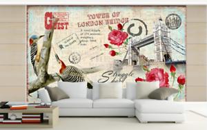 3D London Bridge 785 Wall Paper Murals Wall Print Wall Wallpaper Mural AU Kyra