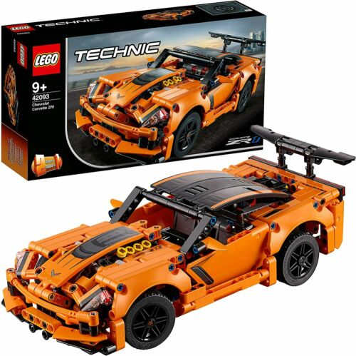 579 Pieces LEGO Technic Chevrolet Corvette ZR1 42093 Building Kit NEW