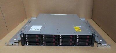 Ragionevole Hp Storageworks Aj750a Msa2000 Storage Array Con Doppio Hp Aj751a 12 X 450 Gb 15k-
