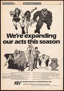 RUBY-SPEARS-Original-1981-Trade-AD-TV-promo-Thundarr-the-Barbarian-Marmaduke