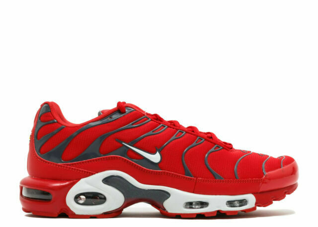 Size 13 - Nike Air Max Plus Red Pure Platinum for sale online | eBay
