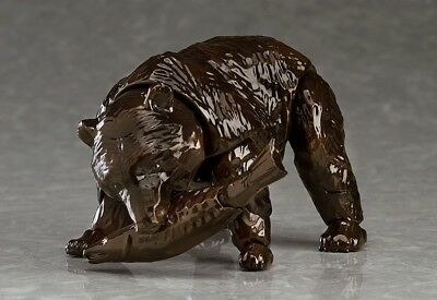 M06541: Max Factory Figma Higma wooden carving Brown Bear Action Figure