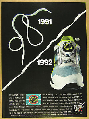 1992 Puma DISC SYSTEM Running Shoes