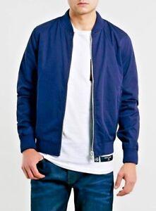 British-Summer-Premium-Cotton-Bomber-Jacket-For-Men-light-weight-Men-039-s-jacket