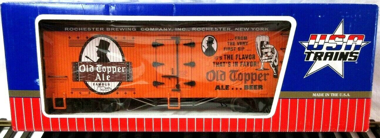 USA i treni 16390 OLD TOPPER ALE REEFER W METAL ruedaS