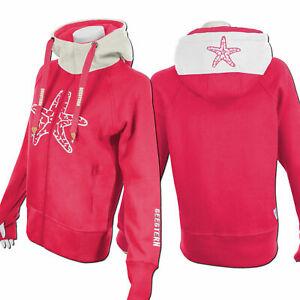 Details zu SEESTERN Damen Kapuzen Sweat Shirt Jacke Pullover Zip Hoody Sweater Gr.XS 3XL