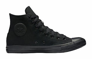 Taylor M3310 Hi Hommes Chaussures Chuck Toile Noir Top Baskets Star All Converse 0wt7PP