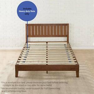 Mayton King Size Slats Solid Wood Bed Support Bunkie Board 78x79 669818846455 Ebay
