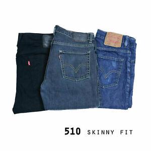 Levis 510 skinny fit jeans denim grade a W30 W32 W34 W36 W38 W40