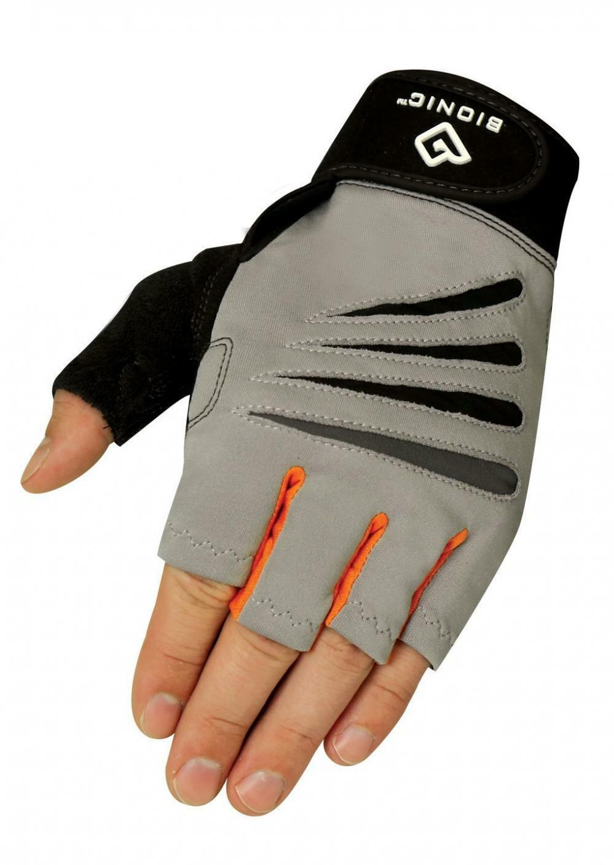 Bionic Glove Men's Cross-Training Fingerless Gloves w/Natural Fit...