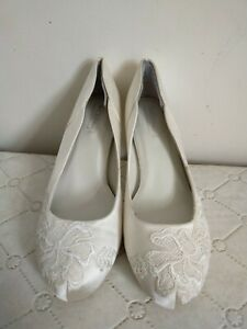 BHS Wedding Shoes Size 4, memory foam