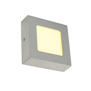 intalite-SENSER-mur-et-Lumiere-Plafond-carre-gris-argente-6W-SMD-LED-120