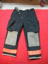 34 X 30 1990s Womens Globe Firefighter Fire Pants Bunker Turnout Gear Vtg