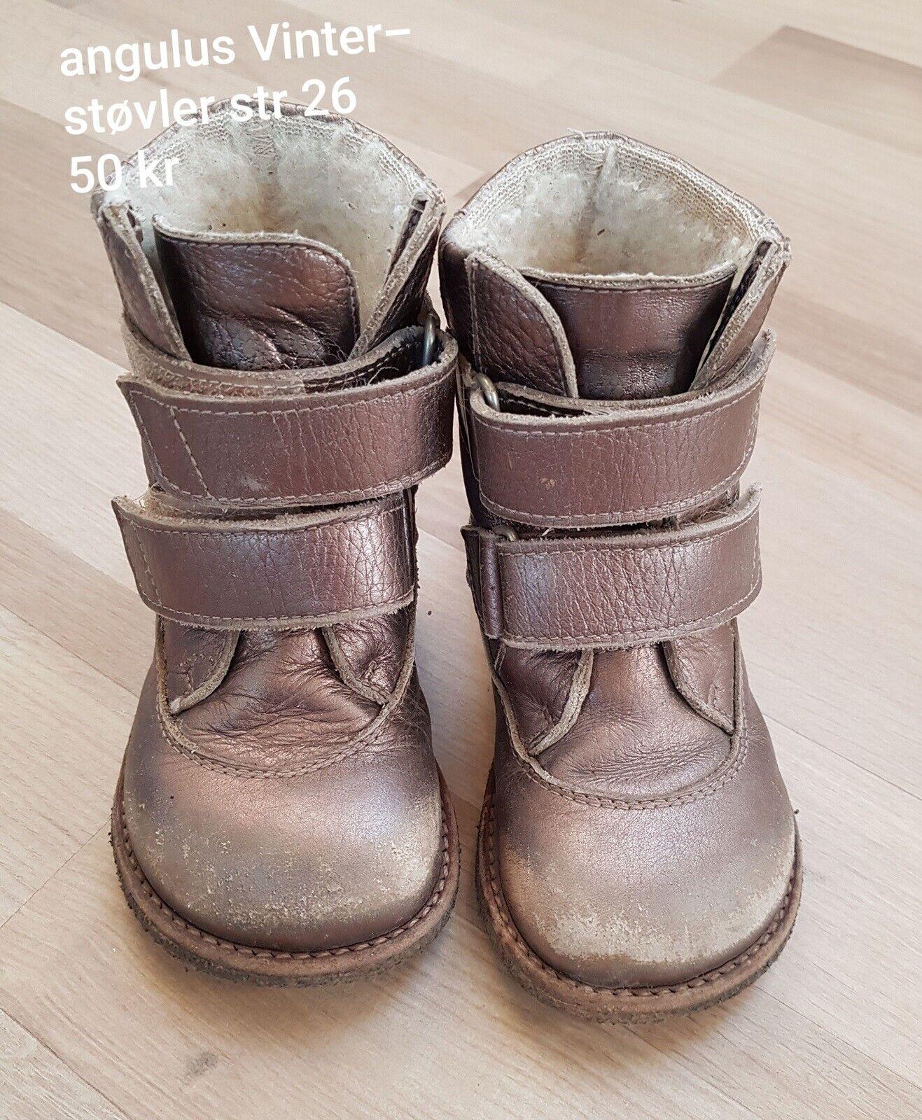 Vinterstøvler, str. 19, Angulus – dba.dk – Køb og Salg af