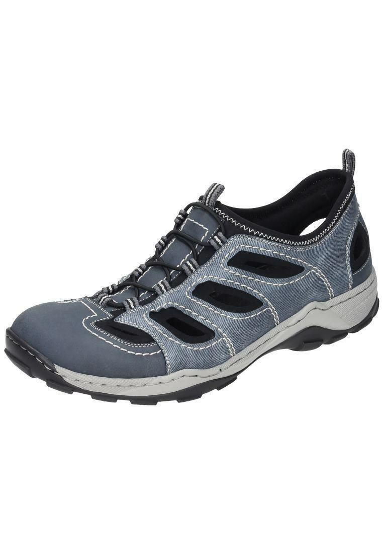 Rieker sandalias outdoor trekking zapatos caballero zapatos azul Gr. 40-47 08065-14 neu18