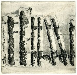 Llop-034-Libros-3-034-grabado-aguafuerte-original