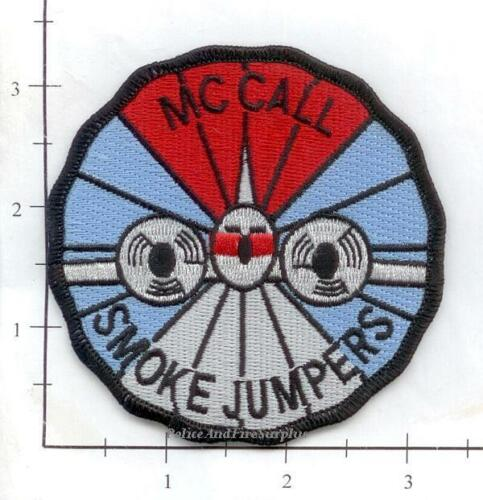 Idaho McCall Smoke Jumpers ID Forest Fire Dept Patch