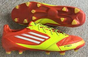 Détails sur Adidas F50 Adizero Fg Cuir Chaussures De Football UK 13 afficher le titre d'origine