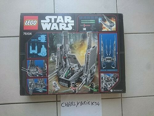 LEGO Star Wars 75104 Navette de commandement de Kylo Ren neuf scellé//New sealed