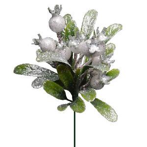 Christmas-Glittery-Mistletoe-Stem-Green-And-White