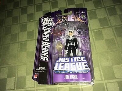 DC Super Heroes Action Figure Mattel Toys JLA Justice League Unlimited Orion Purple Card