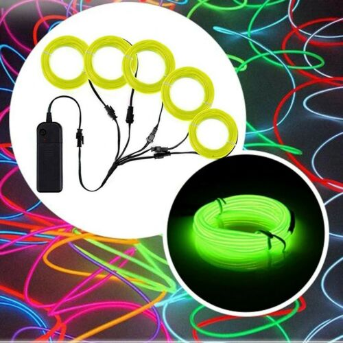 RGB COLOR LIGHT UP LED STICK FIGURE KIT NEW TOYS HALLOWEEN  5 BY 1 Meter// 3 FT
