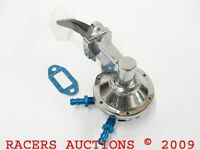 Oldsmobile Olds High Volume Chrome Mechanical Fuel Pump 330 350 400 403 425 455