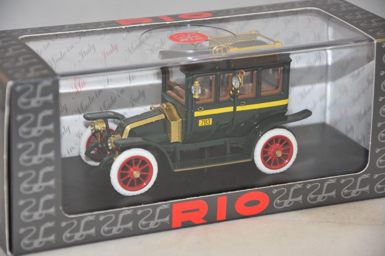 RIO 4548 - Renault Tipo X Taxi green - 1907 1907 1907   1 43 a3ce28