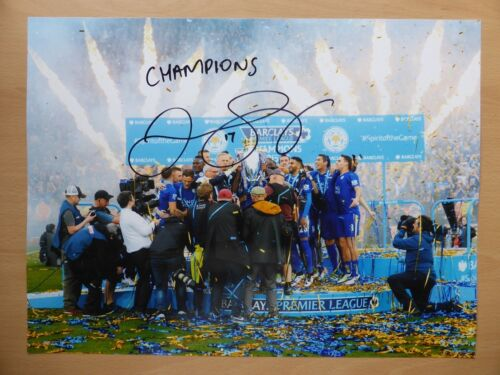 201516 Leicester City Champions Photograph Signed by Danny Simpson 10272