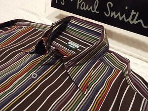Paul Size Homme 42 Smith Chemise poitrine Taille Mens Shirt chest 42 L Smith L Paul dxnn6Bw