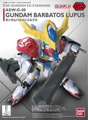 Asw-g-8 Gundam Barbatos Lupus Sd Gunpla Ex-standard #014 Iron-blooded Orphans Materiale Selezionato