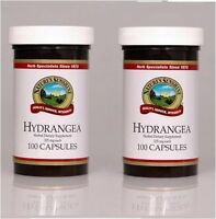 2) 100ct Natures Sunshine Hydrangea Urinary System Support Herbal Dietary Supp