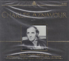 "COFFRET 2 CD 44T CHARLES AZNAVOUR ""CHARLES AZNAVOUR"" BEST OF 2006 NEUF SCELLE"