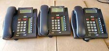 Lot Of 3 Nortelavaya T7208 Charcoal Fully Refurbished Greatexcellent Cond
