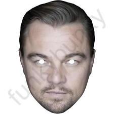 LEONARDO DiCaprio attore carta maschera. tutte le nostre Maschere sono pre-tagliati!