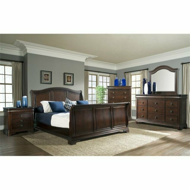 Picket House Furnishings Conley 5 Piece King Sleigh Bedroom Set