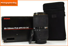 Sigma 50-150mm f2.8 EX DC APO HSM - Nikon + Free UK Postage
