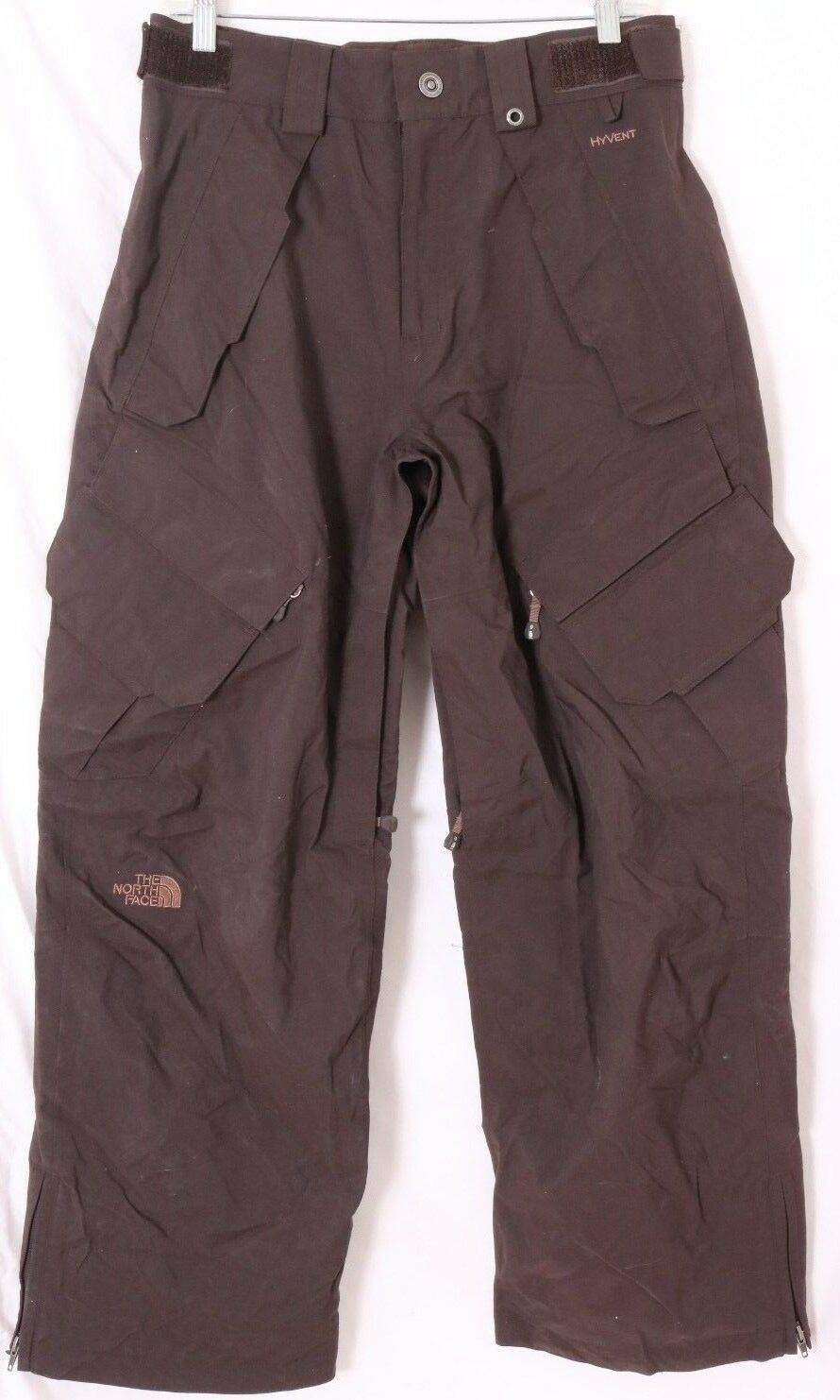 The North Face Cryptic Hyvent RECCO System Brown Snowboarding Ski Pants Men's S