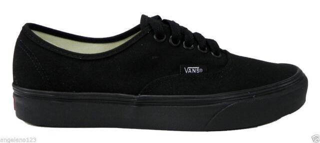 all black vans authentic cheap