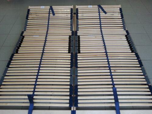 Kopfteilverstellbar Optimalux K 2x 7 Zonen Lattenrost 2x 80x200  = 160x200