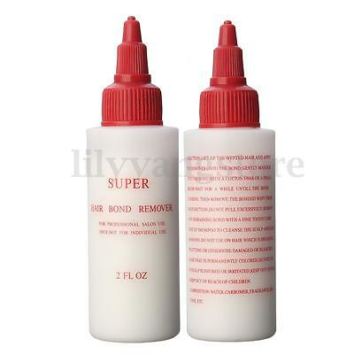 Pro Hair Wig Bonding Remover Gel Glue Adhesive Anti-fungus Hair Extension Salon
