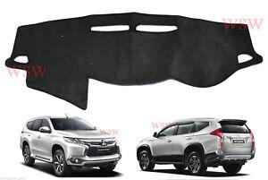 RH-Dash-Mat-Dashmat-Carpet-Cover-Fit-Mitsubishi-Pajero-Montero-Sport-2016-2017